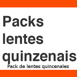 Packs Lentes Quinzenais
